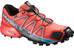 Salomon W's Speedcross 4 GTX Shoes Coral Punch/Black/Blue Jay